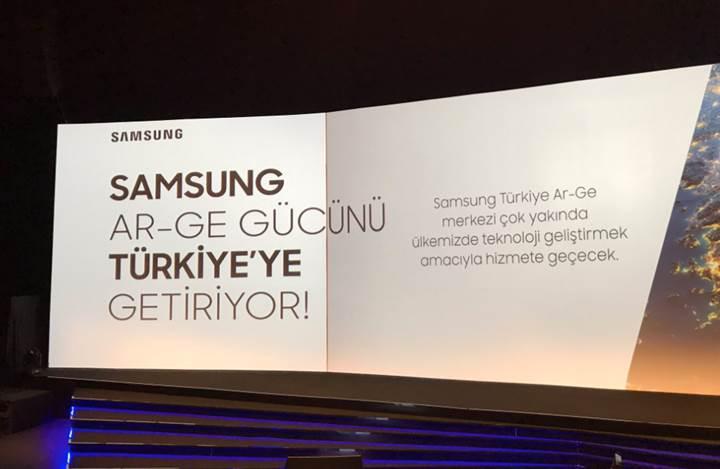 Samsung Türkiye'de Ar-Ge merkezi açacak