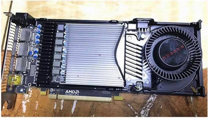 AMD Radeon RX 570 ekran kartı sızdırıldı