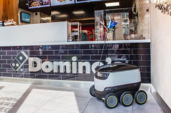Domino's Pizza, siparişleri robotla teslim edecek