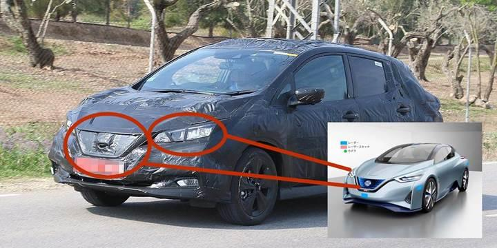 Yeni Nissan Leaf ilk defa görüntülendi