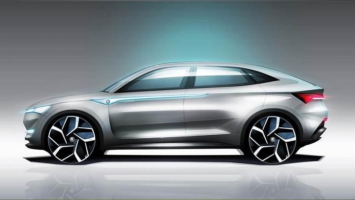 Skoda'dan ilk elektrikli araç hamlesi: Vision E Concept
