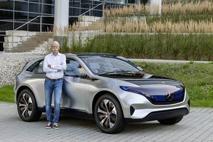 Mercedes-Benz elektrikli otomobil üretimini hızlandırıyor