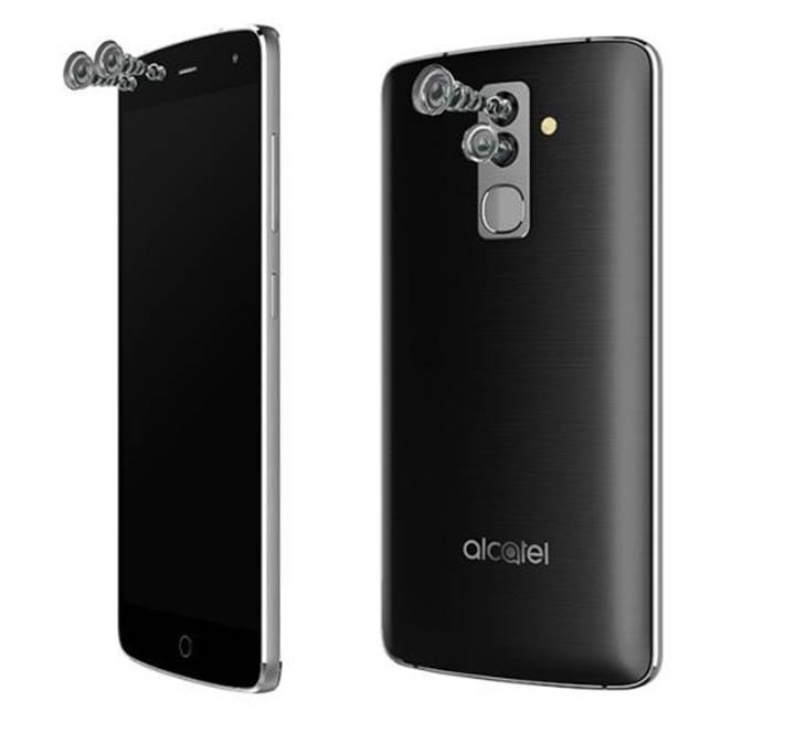 Alcatel'in yeni telefonu ön ve arkada çift kameraya sahip