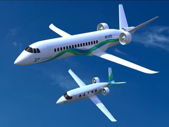 Hibrit uçak üreticisi Zunum Aero, Boeing'in desteğini aldı