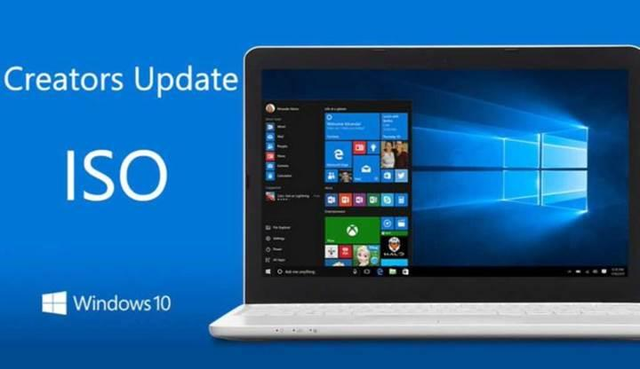 Windows 10 Creators Update'in resmi ISO'ları indirilebilir durumda