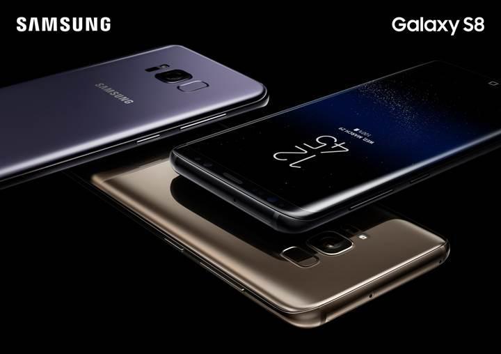 Samsung Galaxy S8 ön siparişleri rekor kırıyor
