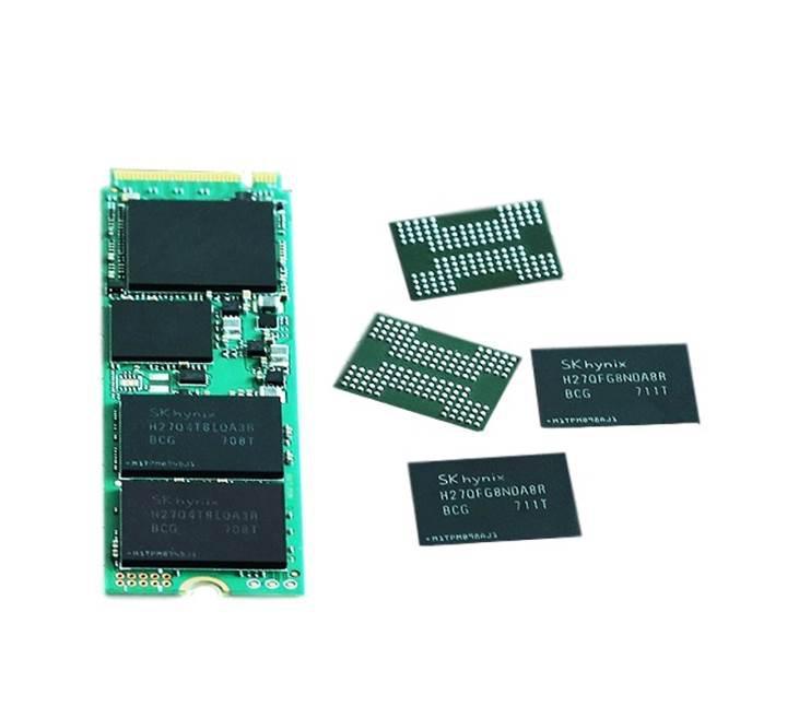 SK Hynix sektörün ilk 72 katmanlı 3D NAND flash belleğini üretti