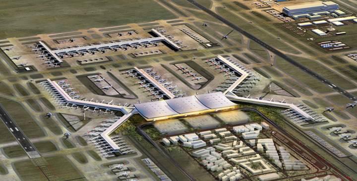 İstanbul Yeni Havalimanı'nın bilgilendirme ekranlarını Vestel üretecek