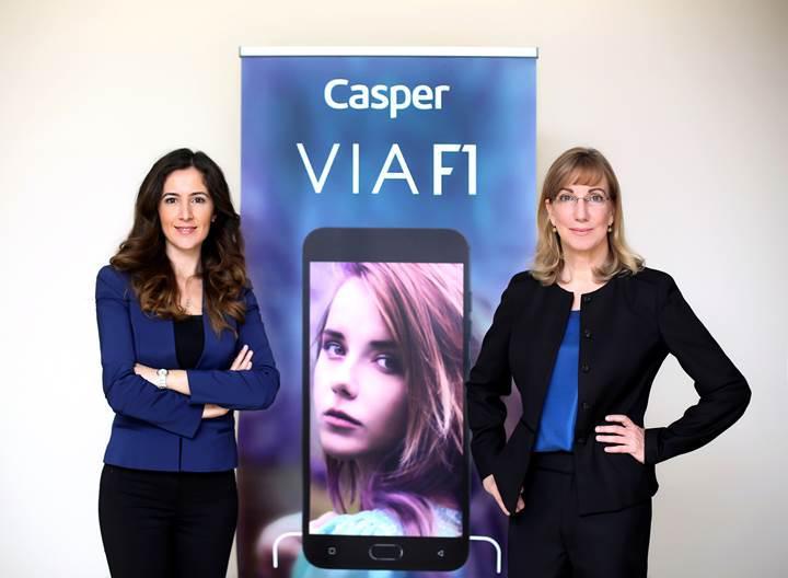 Casper'ın çift arka kameralı ilk akıllı telefonu VIA F1 tanıtıldı