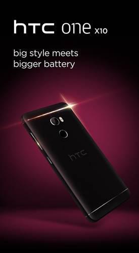 HTC One X10 resmen göründü, büyük bir pille geliyor