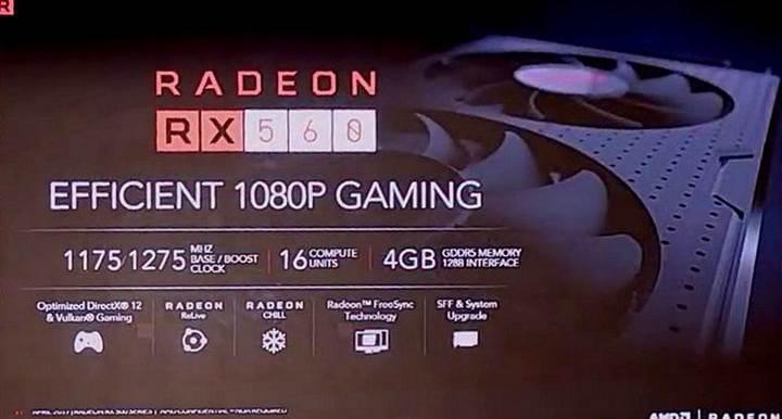 AMD Radeon RX 500 basın görselleri sızdırıldı