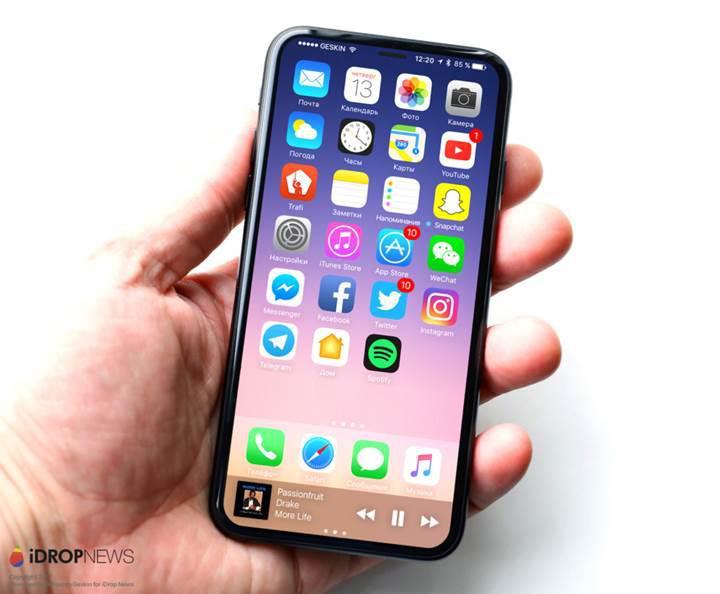 iPhone 8'e ait olduğu iddia edilen teknik çizimler ortaya çıktı