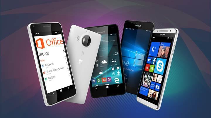 Hangi telefonlar Windows 10 Mobile Creators Update güncellemesi alacak?