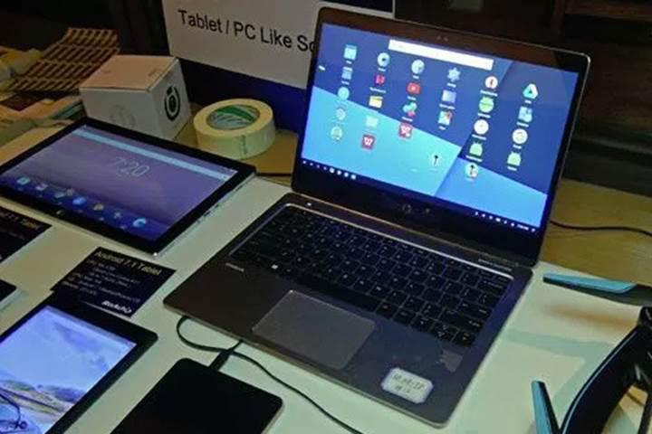 HP'nin Android tabanlı Remix OS'e sahip olan dizüstü bilgisayarı görüntülendi