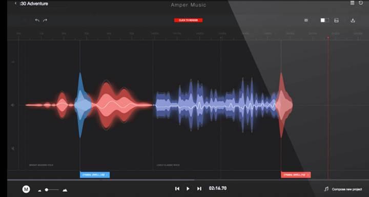 Amper Music yapay zekayı müzik dünyası ile buluşturuyor
