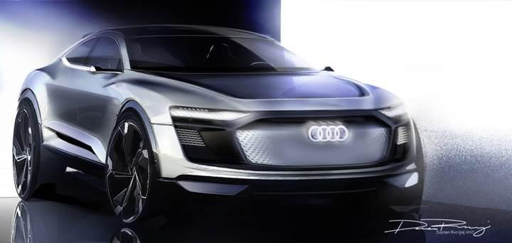 Audi yeni bir e-tron elektrikli araç konsepti tanıtmaya hazırlanıyor
