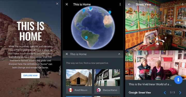 Google Earth keşif odaklı yenilendi