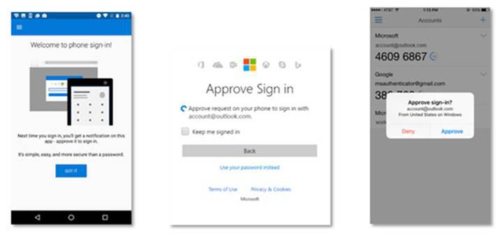 Microsoft hesabına şifresiz giriş yapmak artık mümkün