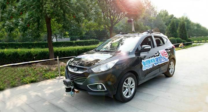 Baidu, sürücüsüz otomobiller için yarattığı yeni platformunu tanıttı
