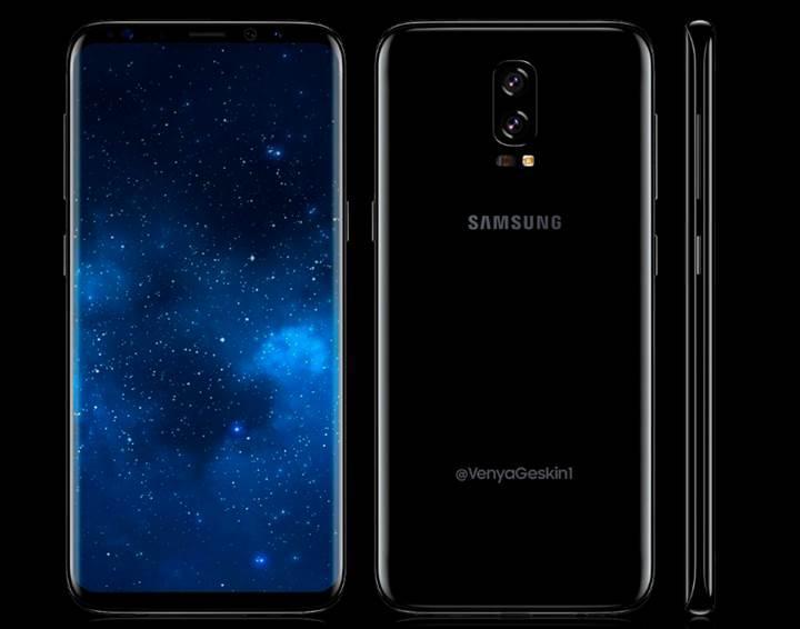 Samsung Galaxy Note 8 de radikal tasarım değişikliklerine uğruyor