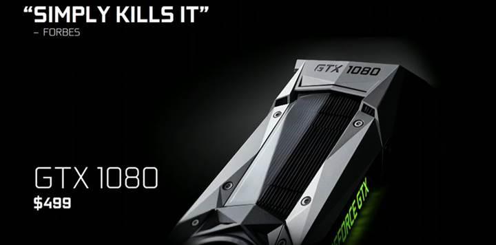 Nvidia'dan AMD'ye cevap gecikmedi: Yenilenmiş GeForce GTX 1080 ve 1060