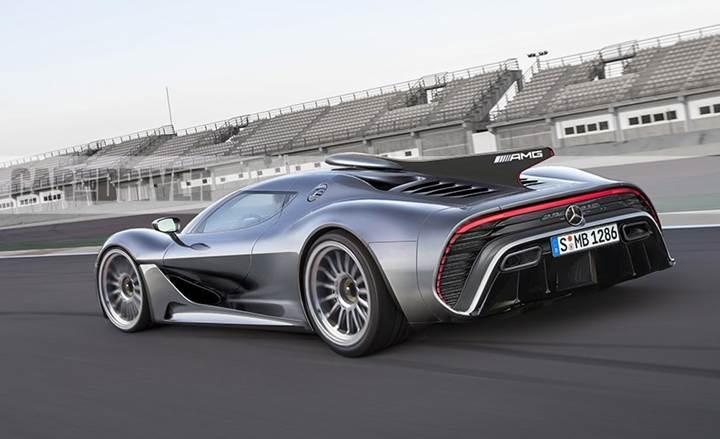 Mercedes-AMG Project One iddiaya göre 1020 beygir gücünde olacak