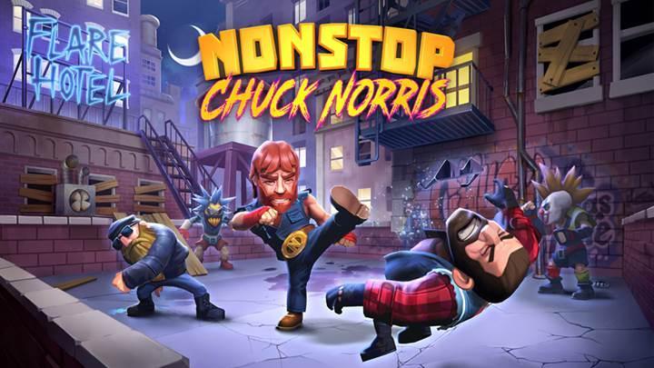 Nonstop Chuck Norris ile dur durak yok