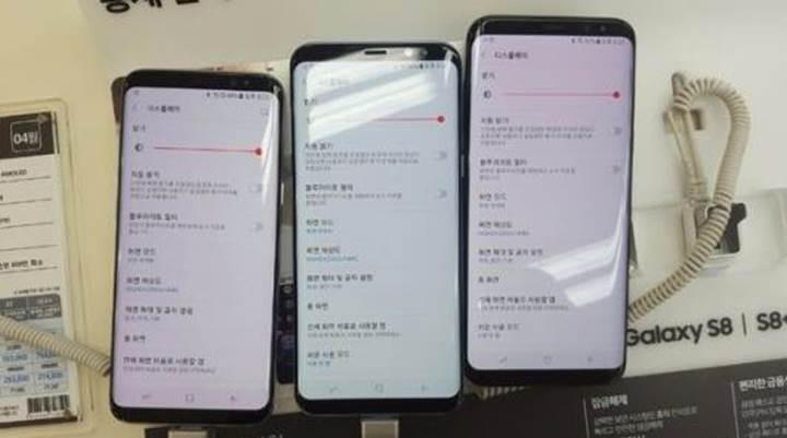 Galaxy S8 ve S8+ modellerinde kırmızı ekran sorunu başladı