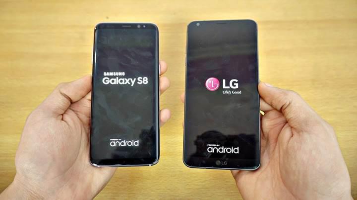 Samsung Galaxy S8 vs. LG G6: Hangi amiral gemisi daha hızlı?