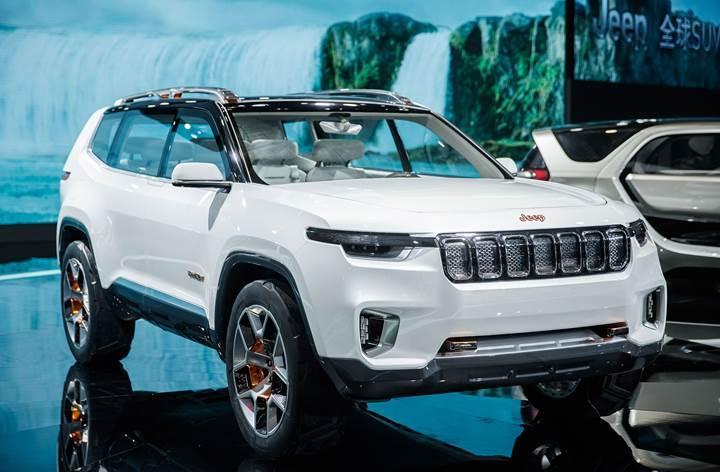 Jeep'ten yeni prizli hibrit SUV konsepti: Jeep Yuntu