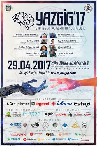 Yapay Zeka ve Görüntü İşleme Günü 2017 etkinliği başlıyor