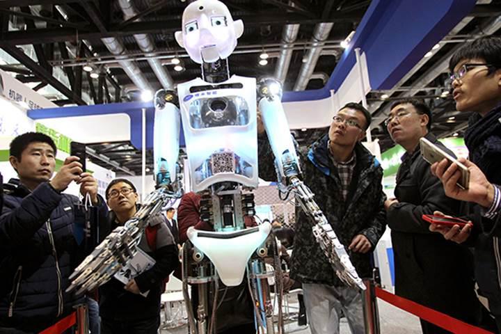 Çin, robot pazarında dünya lideri olmanın peşinde