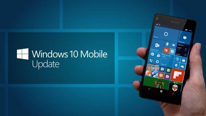 Windows 10 Mobile Creators Update güncellemesi resmen başladı