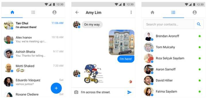 Facebook Messenger Lite global kullanıma sunuldu