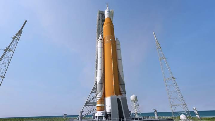 NASA'nın dev roketinin fırlatılışı 2019'a ertelendi