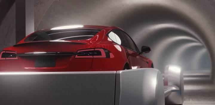 İşte karşınızda Elon Musk'ın trafiği çözecek tünel projesi