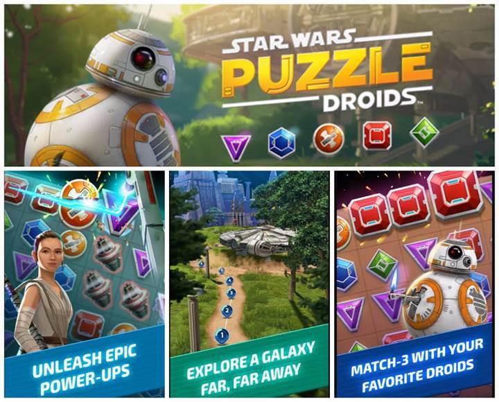 Star Wars: Puzzle Droids indirmeye sunuldu