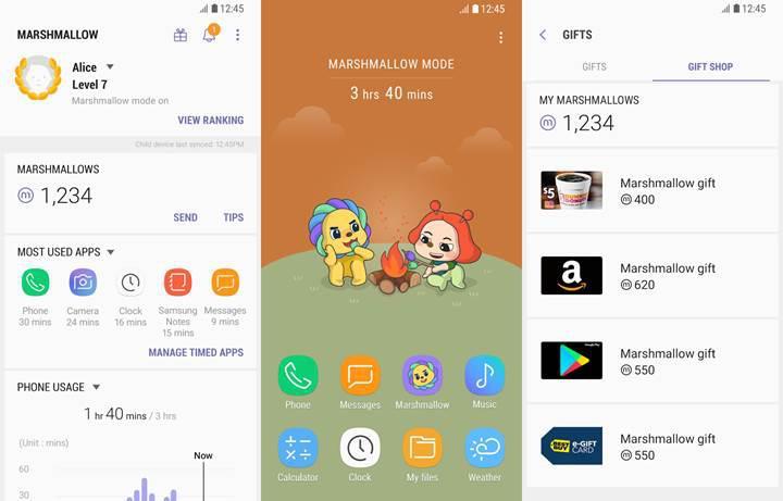 Samsung'dan çocukların telefon krizlerine müdahale