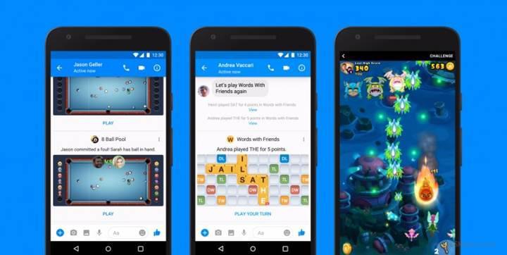 Facebook Messenger'ın oyunları dünya çapında kullanıma sunuluyor
