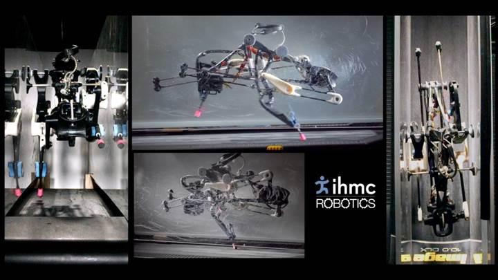Bilgisayar işlemlerine gerek duymadan koşabilen robot üretildi