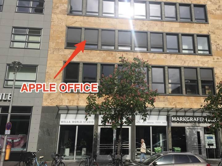 Apple'ın Berlin'deki gizemli ofisi bulundu
