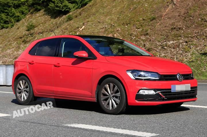 Golf görünümlü yeni Volkswagen Polo ortaya çıktı