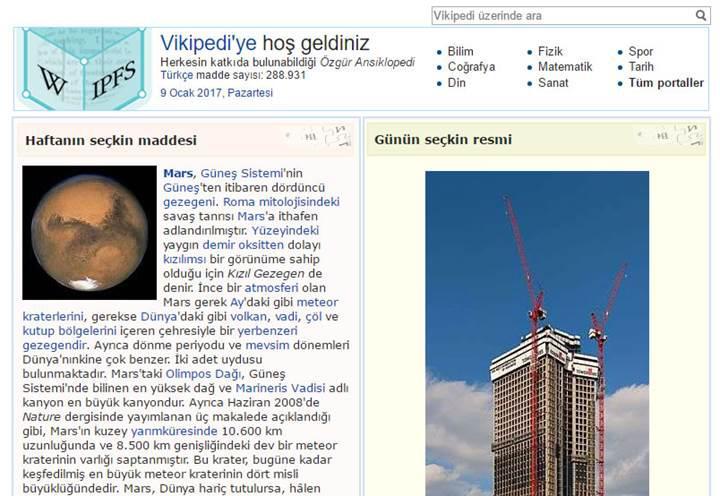 Türkçe Wikipedia'nın engellenemez sürümü yayınlandı!