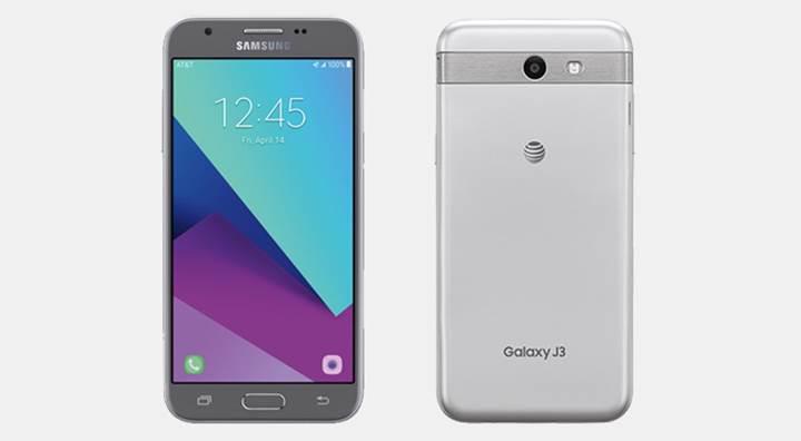 Samsung Galaxy J3, AT&T tarafından satışa sunuldu