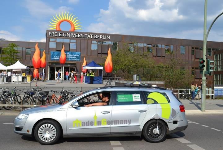 Almanya otonom araç testlerine onay verdi