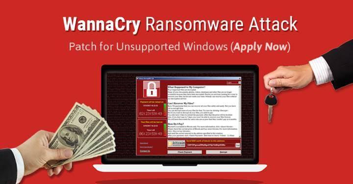 Microsoft'tan WannaCry saldırıları için acil durum güncellemesi