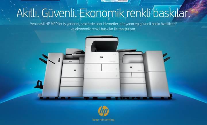 HP'den daha gelişmiş yeni nesil A3 baskı portföyü
