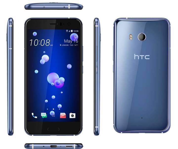 HTC U11 amiral gemisi resmi olarak tanıtıldı