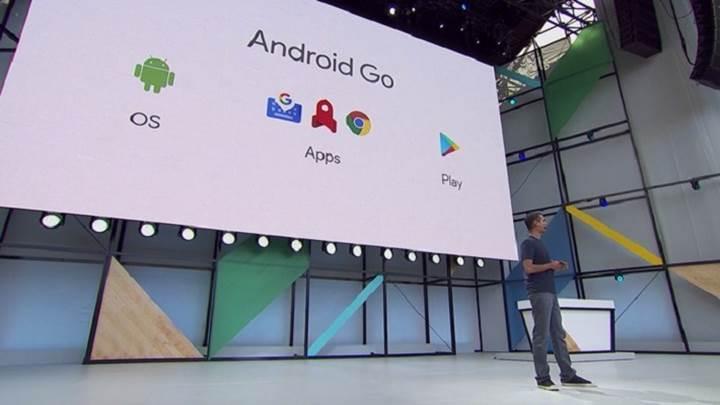 Giriş seviyesi cihazlara Android Go geliyor