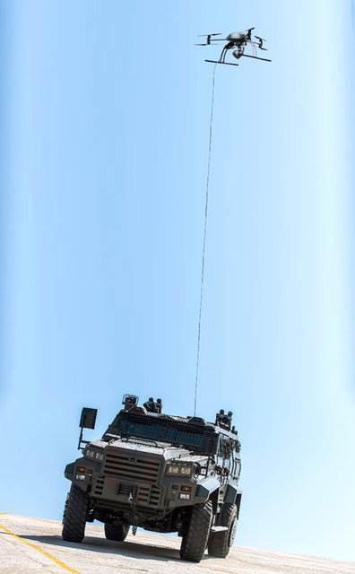 Aselsan'dan zırhlı araçlara tepeden görüş desteği
